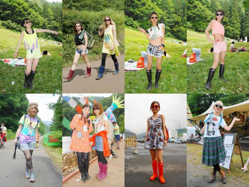 fuji rock fashion snap