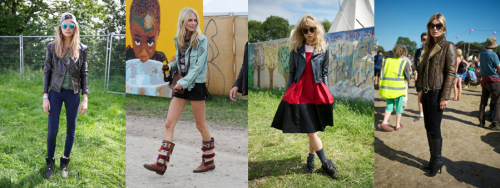 Glastonbury Festival 2013 fashion snap