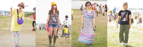 RISING SUN ROCK FESTIVAL in EZO 2013 Fashion Snap