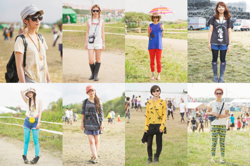 Rising Sun Rock Festival Fashion Snap