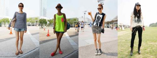 SUMMER SONIC 2013 Fashion Snap
