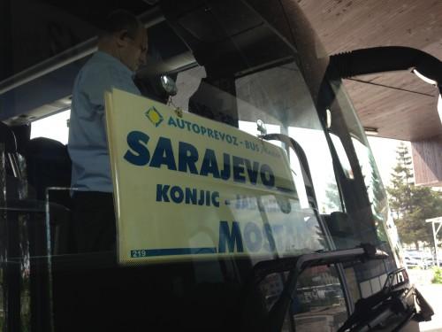mostar sarajevo bus